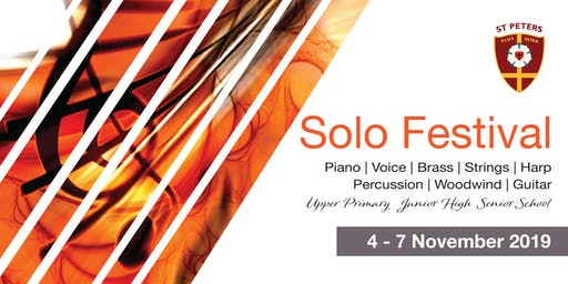 St Peters Music Solo Festival 2019