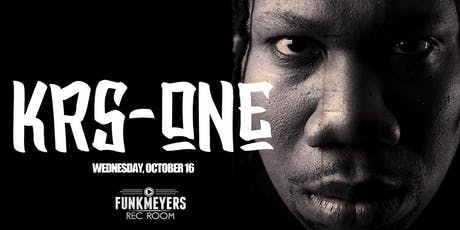 KRS ONE LIVE IN CONCERT tickets