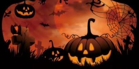 Spooky pumpkins tickets