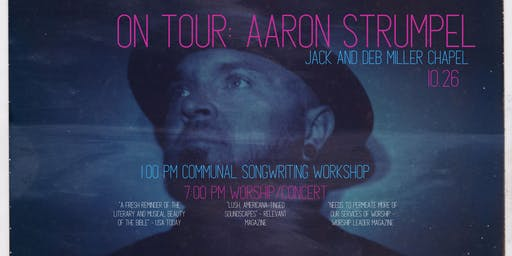 On Tour: Aaron Strumpel