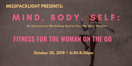 Fitness For The Woman On The Go tickets