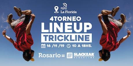 LineUp4 - Torneo de Trickline - Slackear Rosario entradas