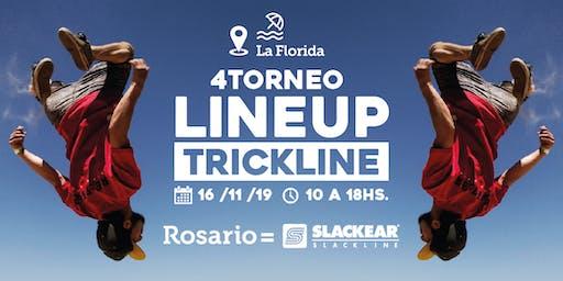 LineUp4 - Torneo de Trickline - Slackear Rosario