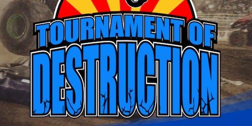 Tournament of Destruction Monster Truck Show (NROTC Fundraiser)