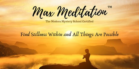 Max Meditation - 60 Minute Guided Session tickets