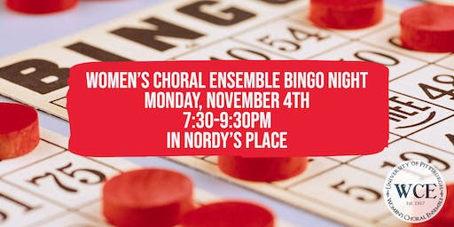 Bingo Night hosted by Women's Choral Ensemble
