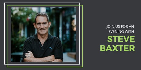Key Event: Investment Evening With Steve Baxter From Shark Tank tickets