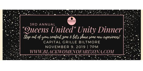"""BWA 3rd Annual """"Queens United"""" Dinner 2019 tickets"""