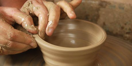 Hand Building Clay on Potter's Wheel Family Event Friday October 18 tickets