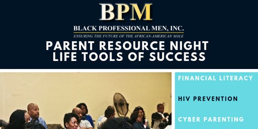 Parent RESOURCE Night - Life Tools of Success