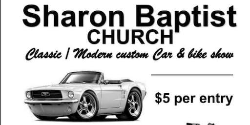 Sharon Baptist Church Car Show