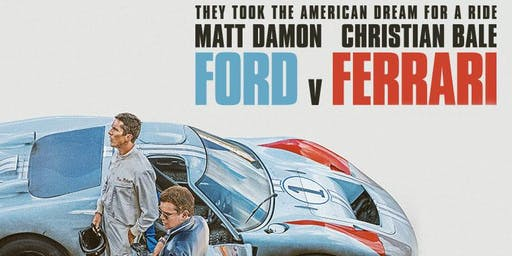 MTA Coast to Coast: Ford v Ferrari Movie Night, Christchurch