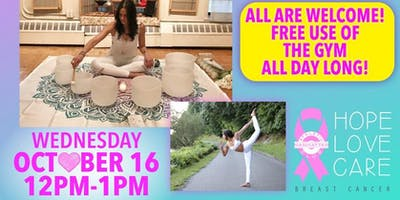 Breast Cancer Awareness Month: Special Class-Heart Chakra