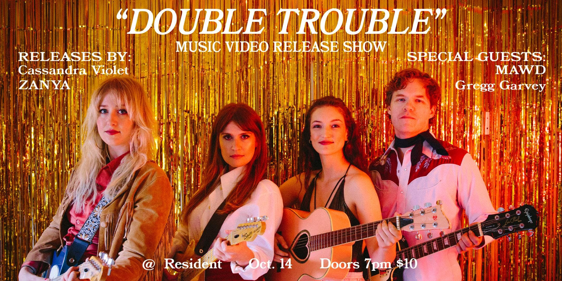 Double Trouble - Music Video Release Show!