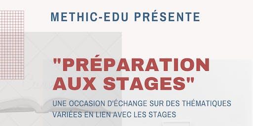 Atelier de Préparation aux stages Bed. EDU 1