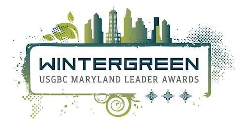 USGBC Maryland Wintergreen Leadership Awards Celebration