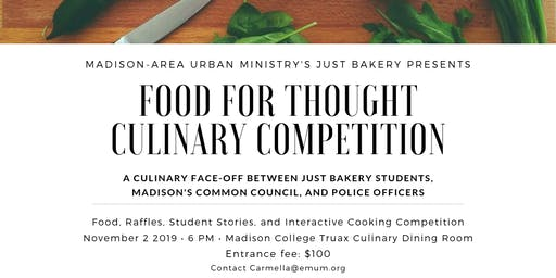 Food for Thought culinary competition
