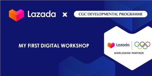 Mastery Class: CGC X LAZADA - 'My First Digital Workshop'
