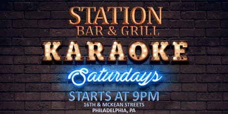 Saturday Karaoke at Station Bar & Grill (South Philadelphia) tickets
