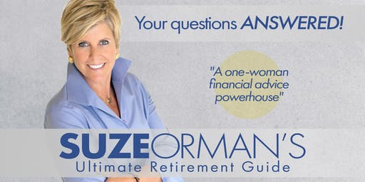 SUZE ORMAN'S ULTIMATE RETIREMENT GUIDE - PBS TELEVISION SPECIAL TAPING