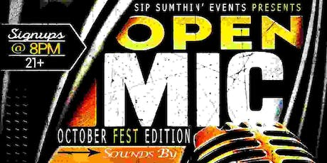 OPEN MIC OCTOBER FEST EDITION  tickets