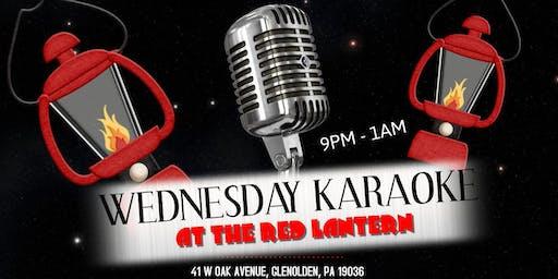 Wednesday Karaoke at The Red Lantern