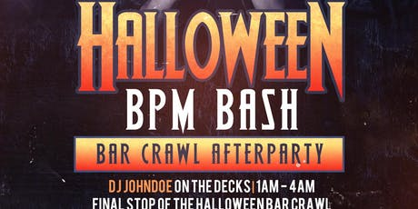 Halloween Bash and Bar Crawl Afterparty tickets