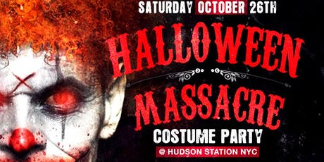 Hudson Station Halloween Costume Party - official ticket tickets