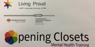 Opening Closets Mental Health Training for those working with LGBTI people
