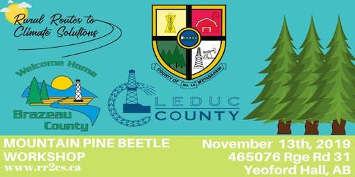 Mountain Pine Beetle Workshop