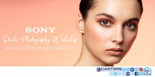 Sony Studio Photography Workshop with Carters Photographics