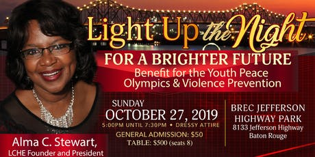 Light Up the Night for a Brighter Future Annual Fundraiser for Youth Peace Olympics tickets
