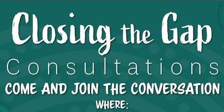 Closing the Gap Consultations: Dubbo tickets