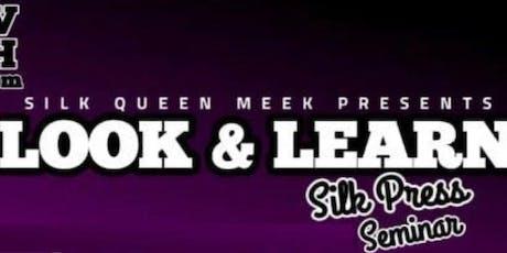 Silk Press Seminar  tickets