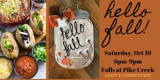 Hello Fall! Wood Sign Workshop