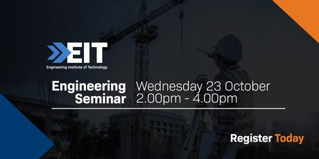 EIT Engineering Seminar in Chennai tickets