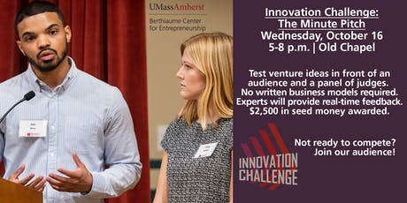 Innovation Challenge: The Minute Pitch tickets
