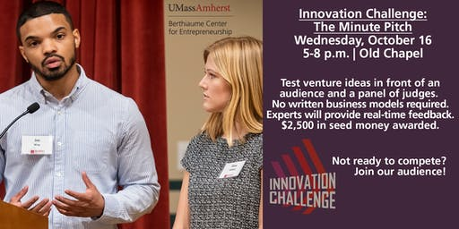 Innovation Challenge: The Minute Pitch
