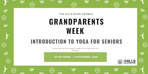 Introduction to Yoga for Seniors - Grandparents Week