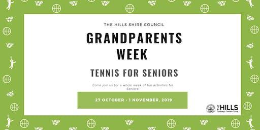 Tennis for Seniors - Grandparents Week