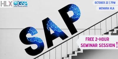 FREE 2-HOUR SEMINAR SESSION ON SAP
