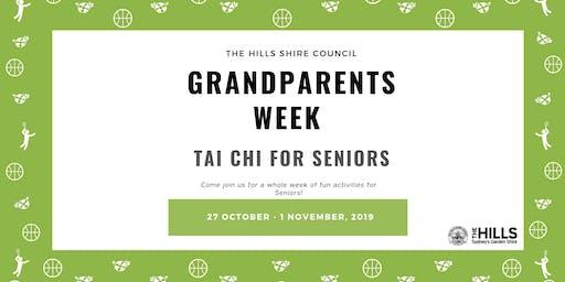 Tai Chi for Seniors - Grandparents Week
