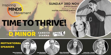 Time to Thrive tickets