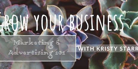 Grow your Business Redmond: Marketing & Advertising 101 tickets
