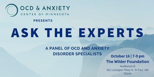 Ask The Experts: A Panel of OCD and Anxiety Disorder Specialists
