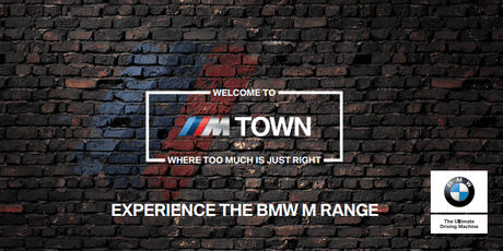 M Town Roadshow: Open Day test drives tickets