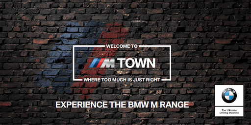 M Town Roadshow: Open Day test drives