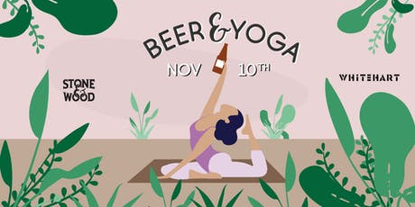 Beer&Yoga at Whitehart tickets