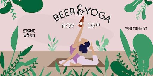 Beer&Yoga at Whitehart