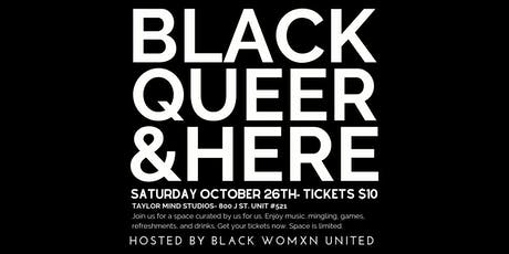 Black Queer and Here tickets